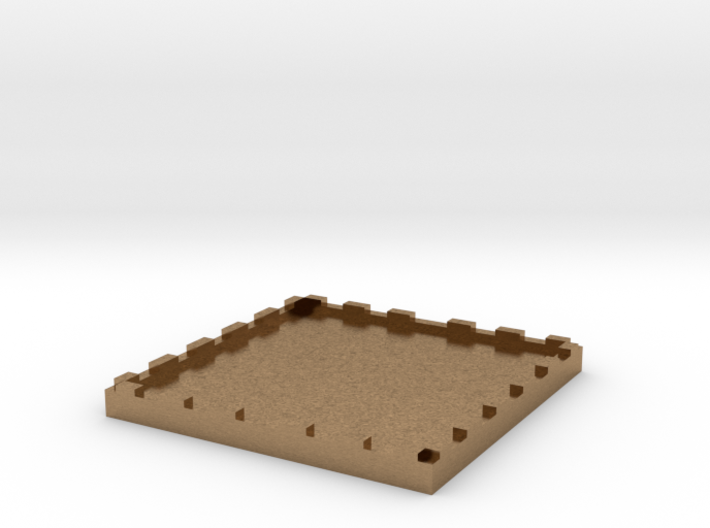 2 inch Miniature Base for Table top Miniatures Sol 3d printed