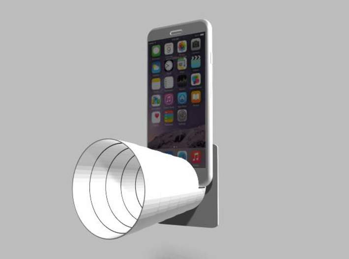 Acousticup Speaker Amplifier 3d printed iPhone6