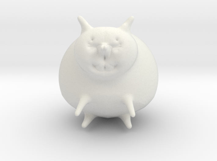 Sitting Cat 3d printed