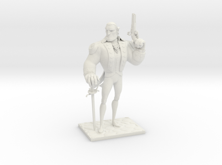 TheColonial (Small) 3d printed
