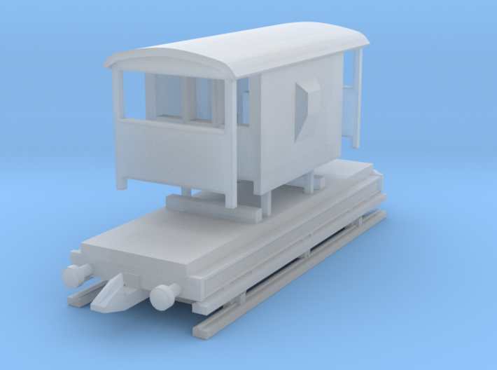 20 ton goods brake(T-Gauge) 3d printed