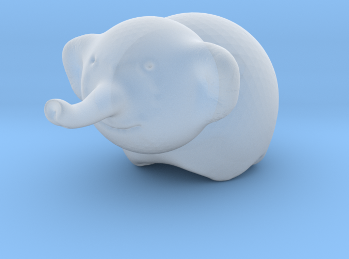 Ella the Elephant 3d printed