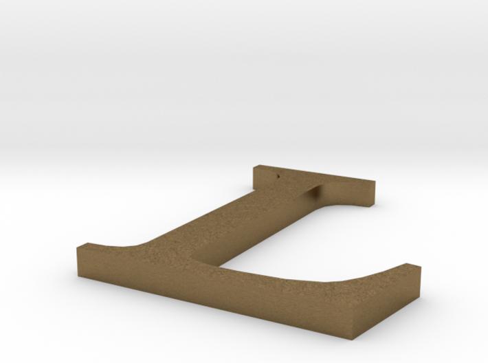 Letter-L 3d printed
