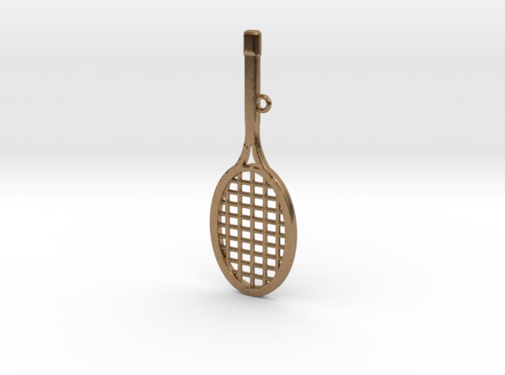 Tennis Racket Pendant 3d printed