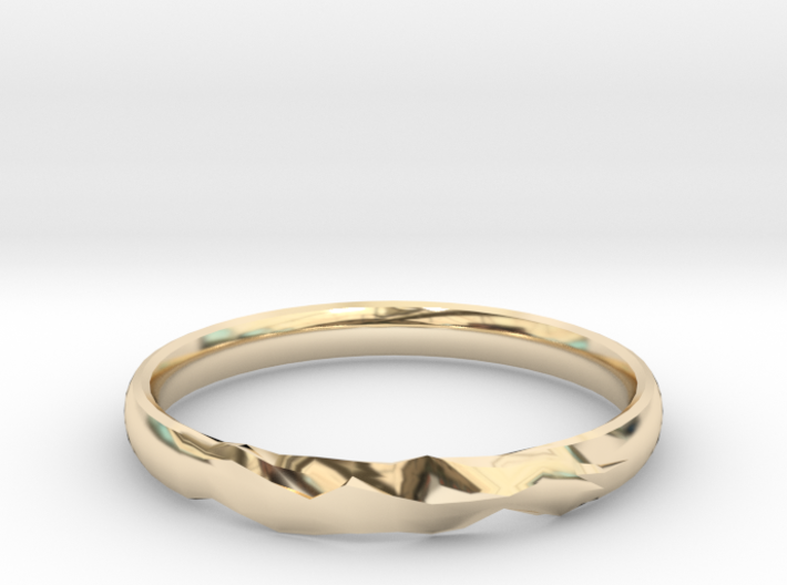 Shadow Ring US Size 6 UK Size M 3d printed