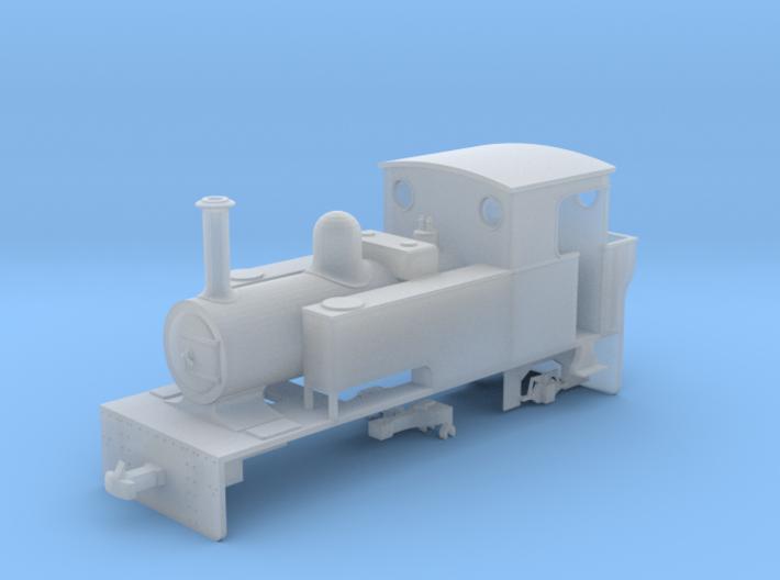 "009 Lynton & Barnstaple Railway ""Isaac"" 3d printed"