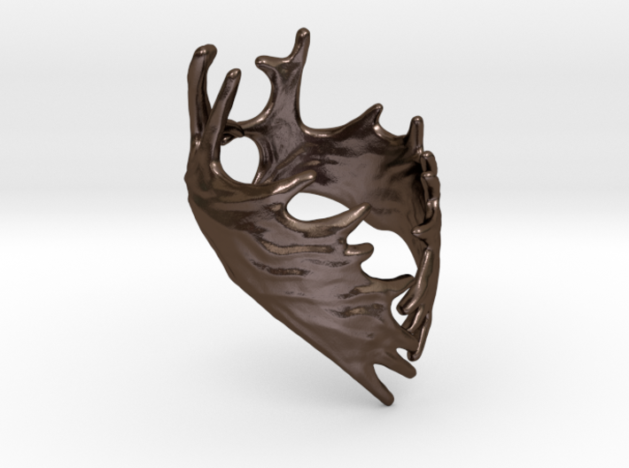 (Size 5) Moose Antler Ring  3d printed