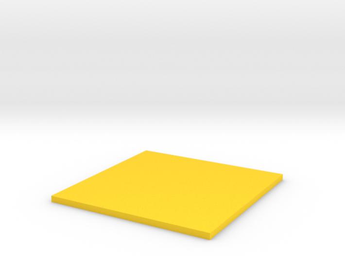 Square 3d printed