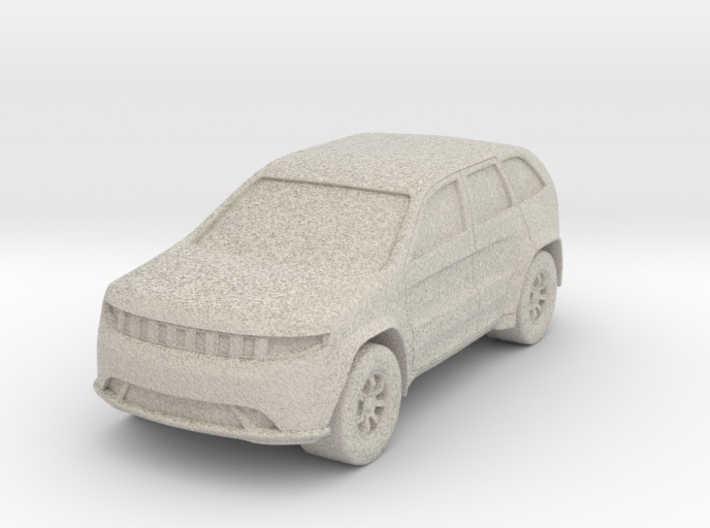 "SUV at 1""=16' Scale 3d printed"