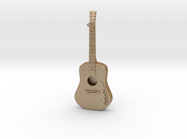 Guitar Pendant 3d printed