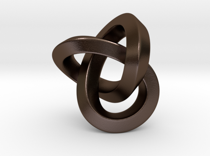 Knot Pendant 30mm 3d printed