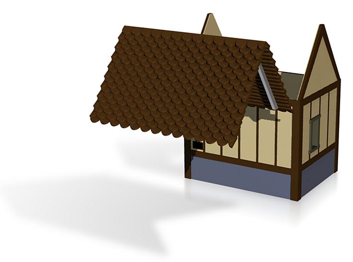 Hovel Test-Tudor Style 3d printed