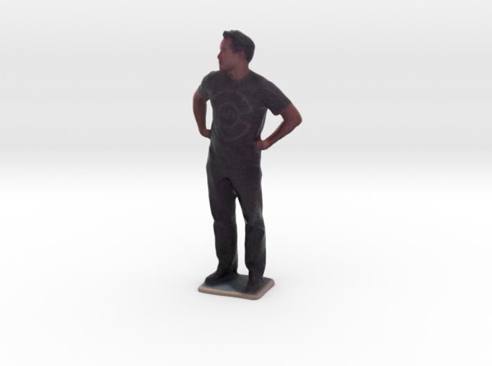 Man With Hands On Hips - Denver Startup Week 2014 3d printed