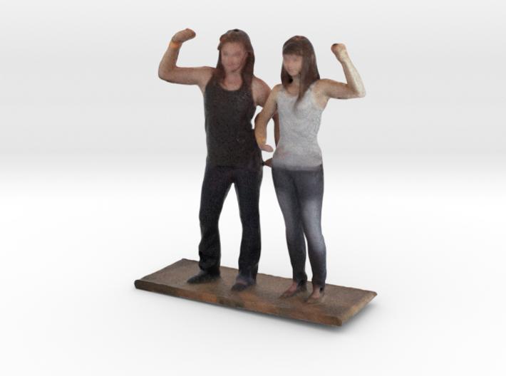 Martha & Liz - Denver Startup Week 2014 3d printed