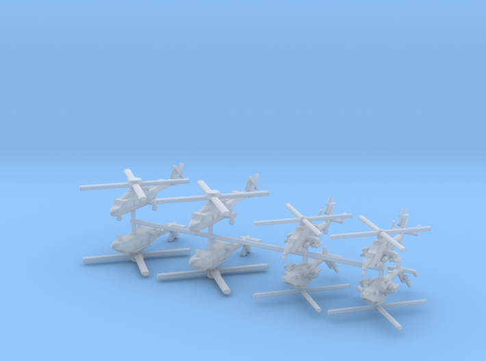 1/600 French Naval Aviation Kit 1 3d printed