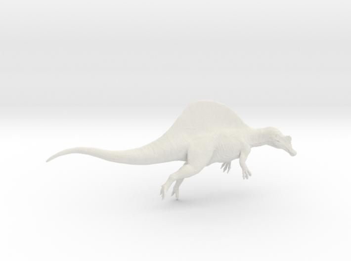 Dinosaur Spinosaurus 1:72 swimming 3d printed