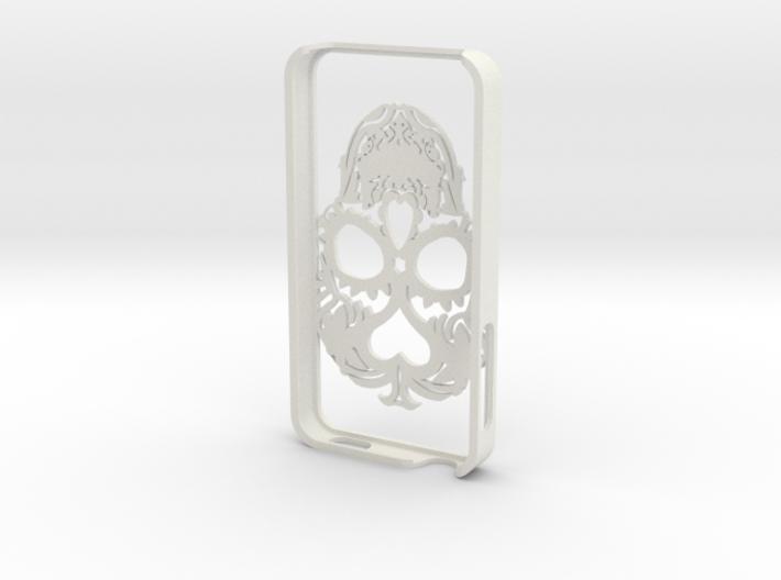 Iphone 4s Case Skull 3d printed