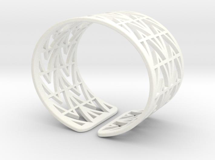 Arrowhead Bracelet 3d printed
