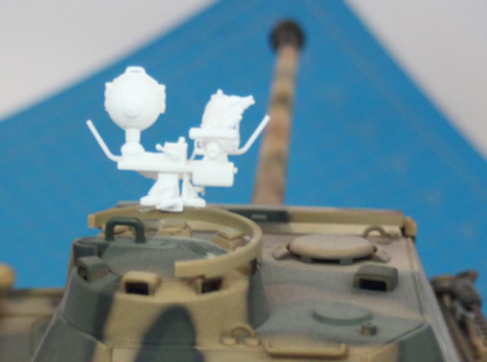 1:18 German FG 1250 Infrared Optics  for Panther T 3d printed