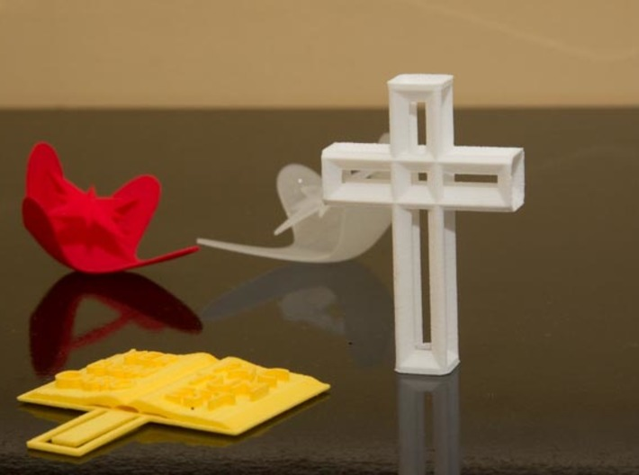 Hipercruz 3d printed Together with some other items from Cristão 3D