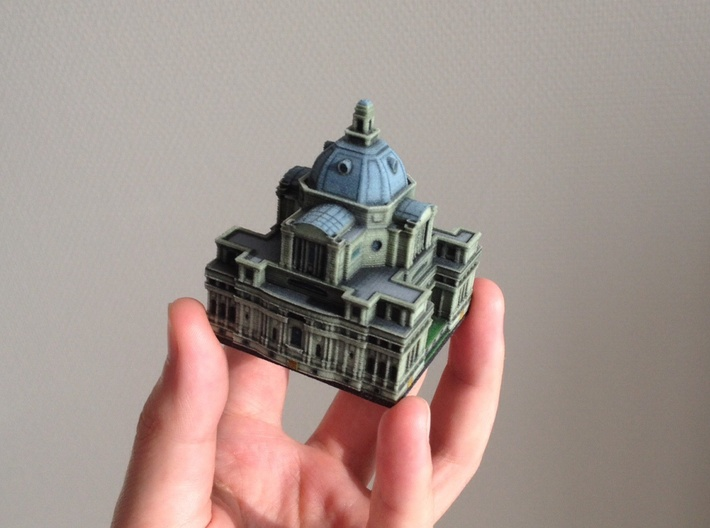 Central Hall Westminster 5 x 4  3d printed