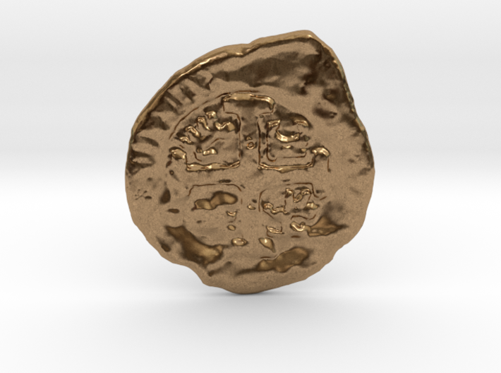 Goonies Style Coin 3d printed