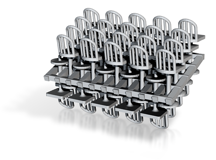 40 Stools A Cage 3d printed