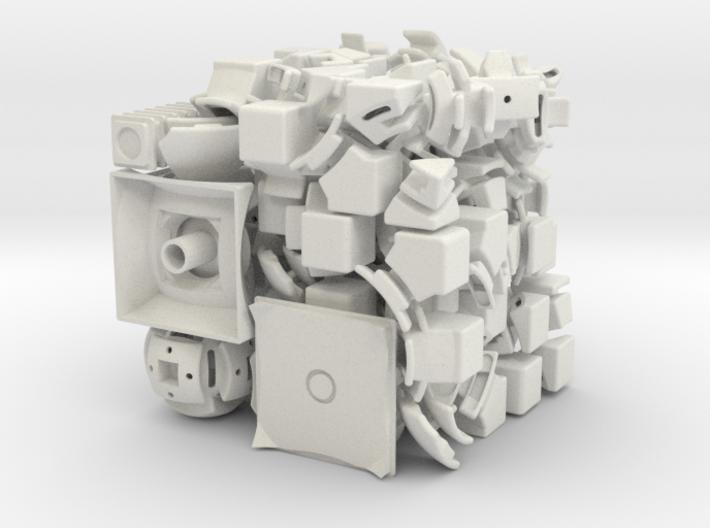 Mercury DoDep 3x3x3 3d printed
