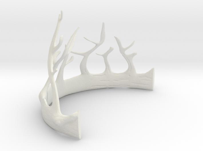 Renly Baratheon's crown Part 1 of 2 3d printed