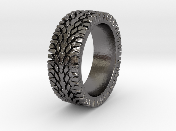 American Sportsman Street Tread Tire Ring 3d printed