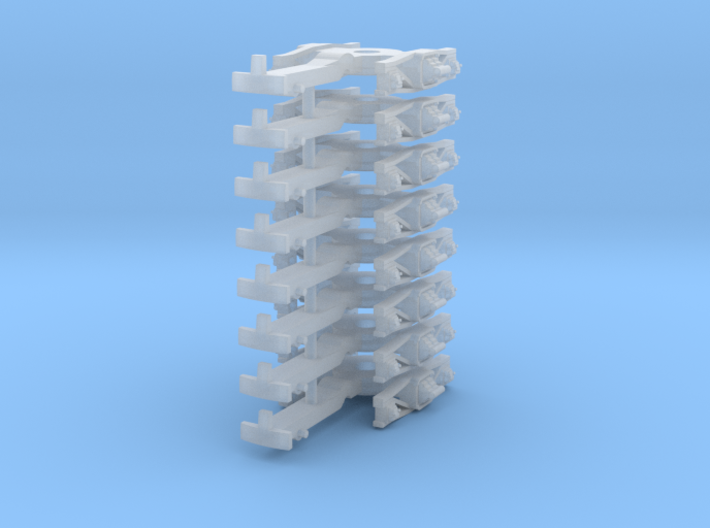 ZB (H0e) - 4P Drehgestelle für 4-ax Pw (alt) 3d printed