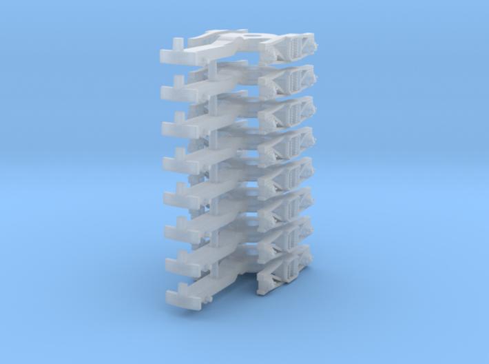 ZB (H0e) - 4P Drehgestelle für 4-ax Gw (alt) 3d printed