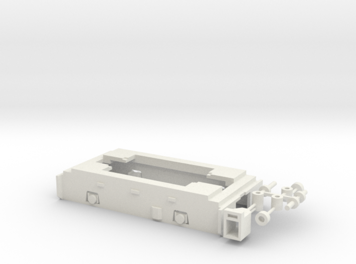 UBL Fahrgestell 3d printed