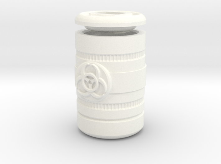 Prop- Barrel Biohazard (mm) 3d printed