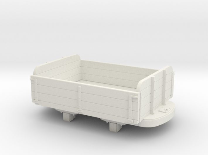 Gn15 3 plank dropside wagon 3d printed