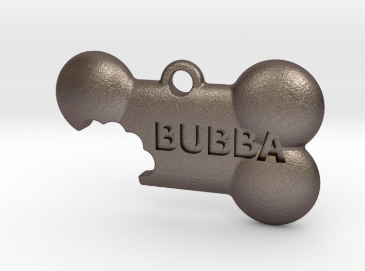 BubbaTag, Dog Bone Bite, Large 3d printed
