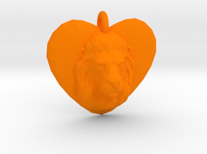LEO LOVE 3d printed