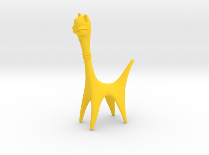 Long Neck Creature 3d printed