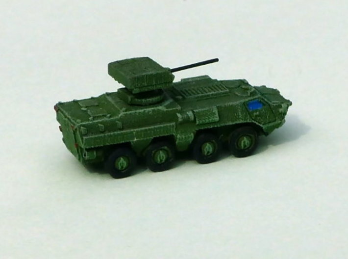 Ukranian APC BTR-4 Grom 1/285 6mm 3d printed Add a caption...