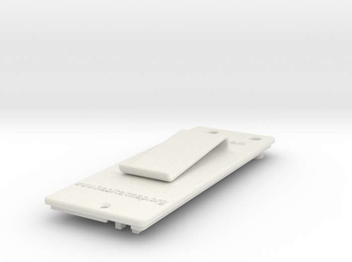 Litebeam Back 3d printed