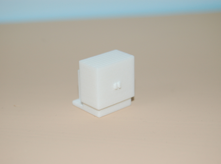 1/87 HO Scale Electrical Cabinet 3d printed