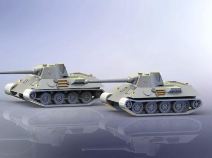 VK 30.02 DB Medium Tank Protype 1/285 6mm 3d printed Add a caption...