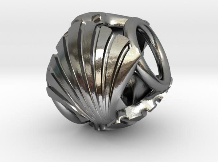 Camino de Santiago Pandora Charm Bead 3d printed
