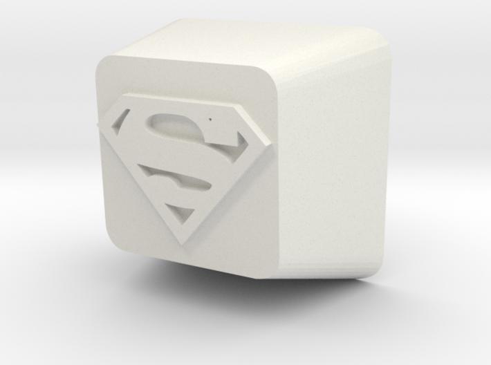 Cherry MX Superman Keycap 3d printed