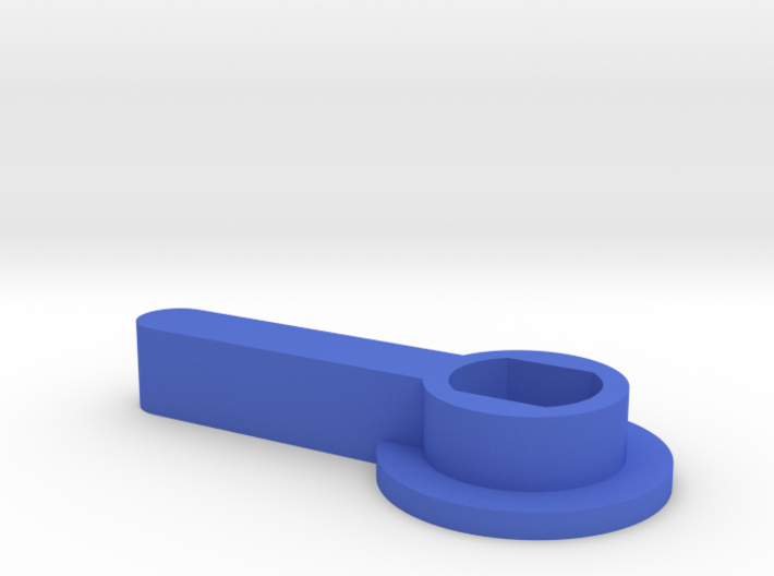 HOUR HAND PLASTIC 3d printed