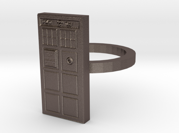 Tardis Ring 3d printed
