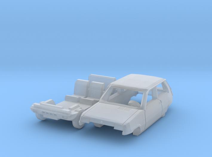 Renault 5 TL (N 1:160) 3d printed