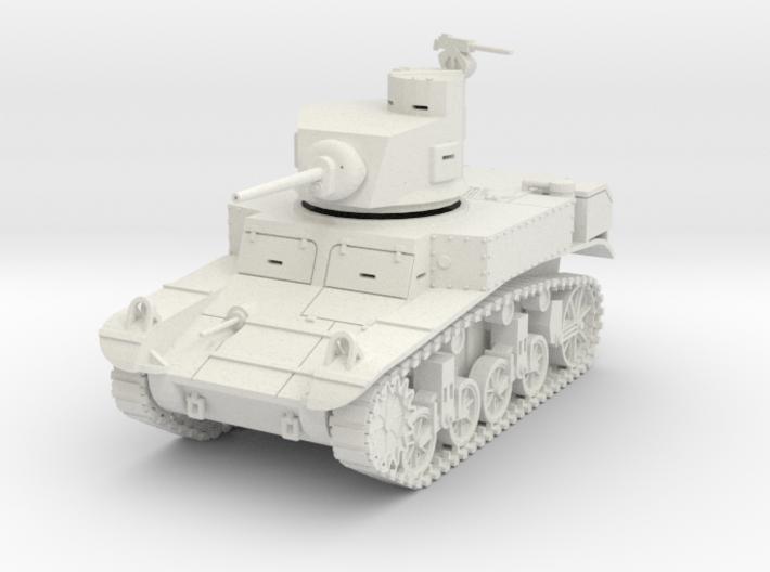 PV28 M3 Stuart w/horseshoe turret (1/48) 3d printed