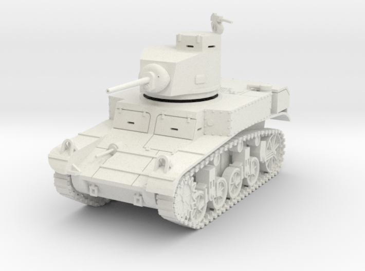 PV27 M3 Stuart Light Tank (1/48) 3d printed