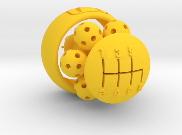 Wiffle Shifter Honda 6sp gear knob 3d printed